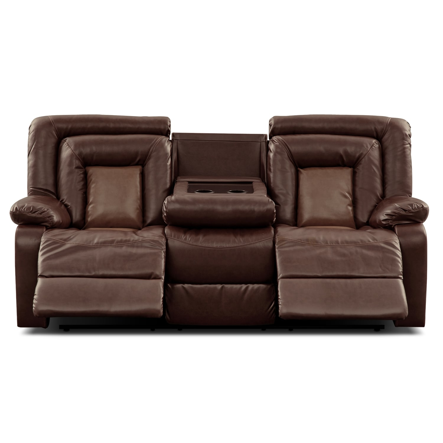 Ketchum reclining sofa Reclining leather sofa and loveseat