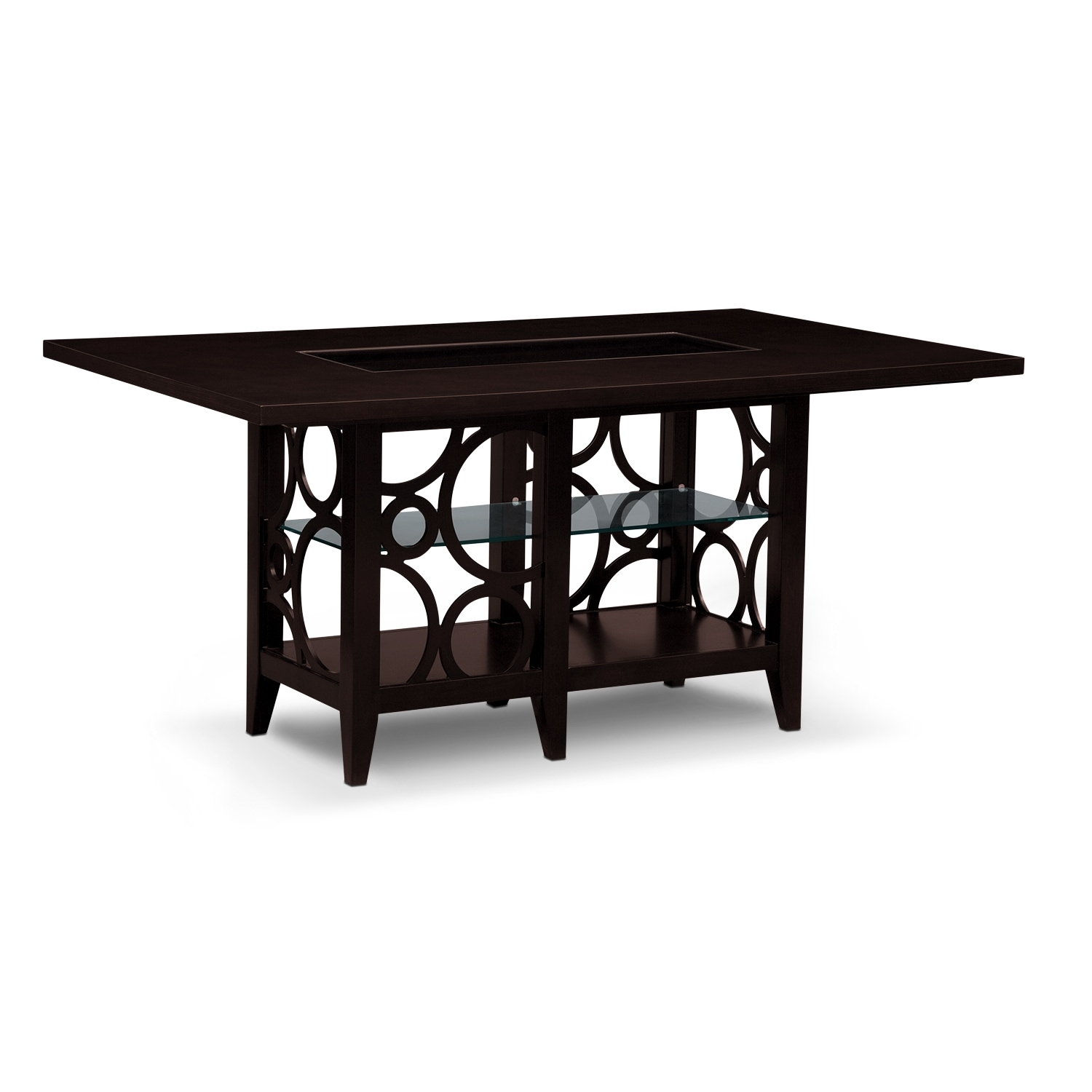 luna pearl dining room dining table value city furniture