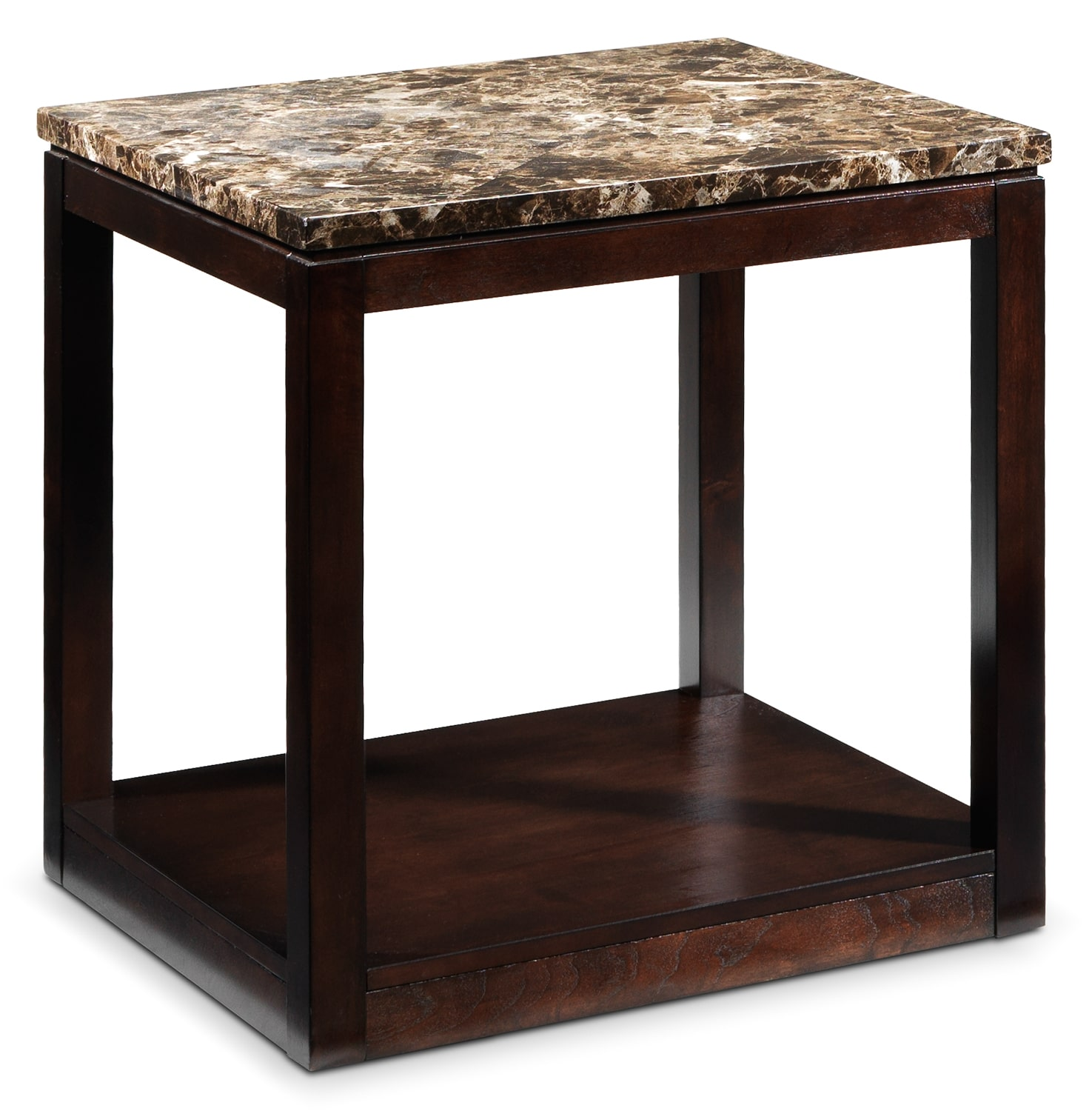 Spark End Table - Brown