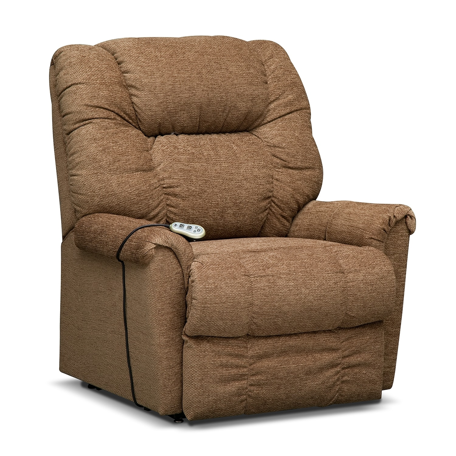 Living Room Furniture - Oberlin Large Power Lift Massage Chair
