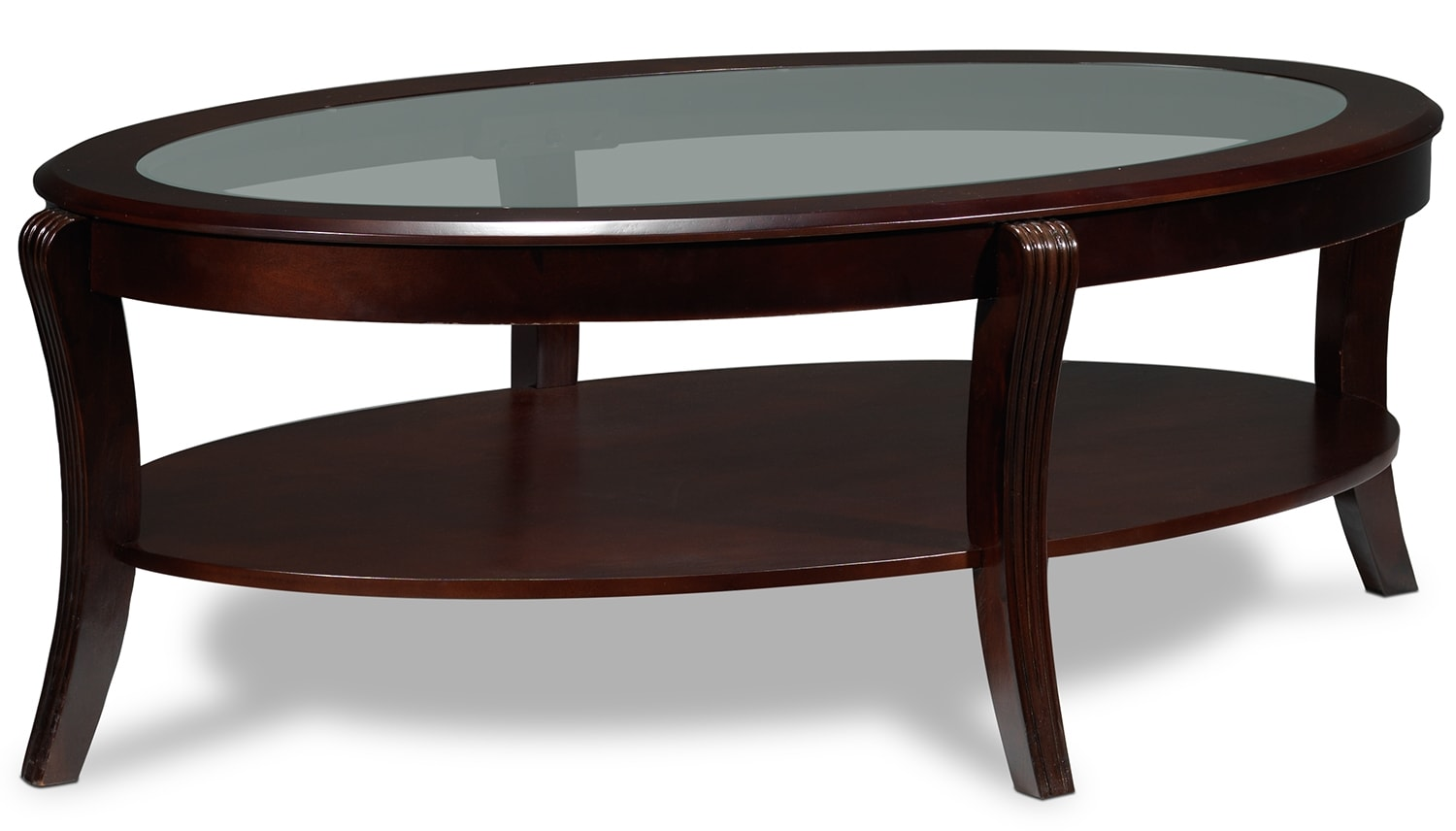 Theo coffee table and two end tables mahogany leon 39 s for K furniture coffee table