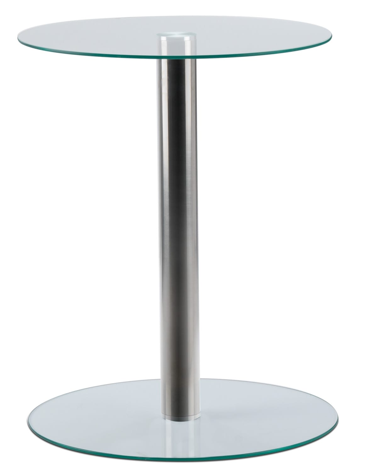 Jenny End Table - Chrome