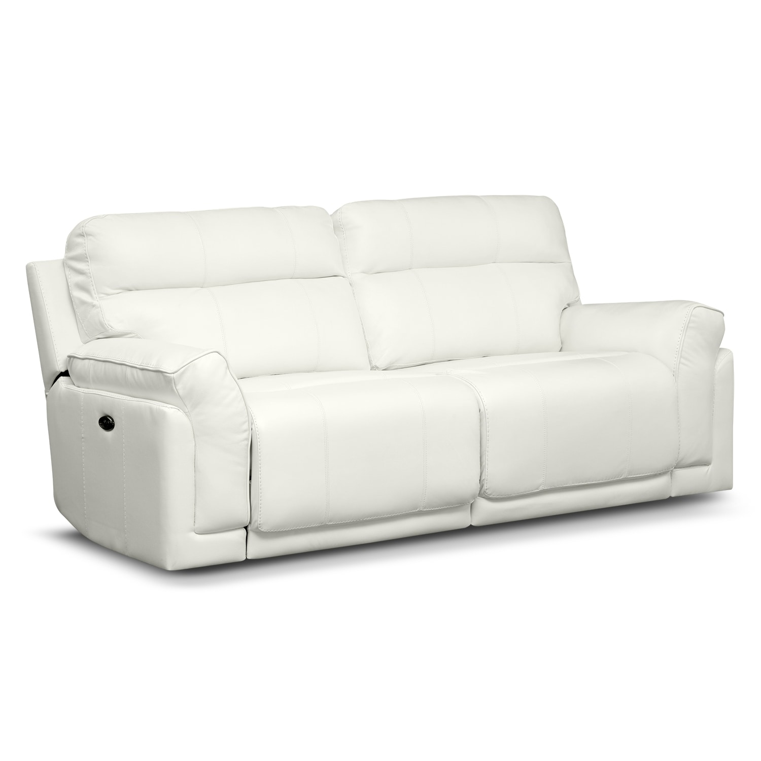 Voyager Ii Leather 2 Pc Power Reclining Sofa Value City