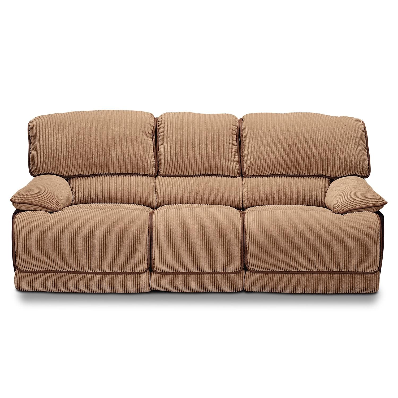 Laguna Upholstery Dual Reclining Sofa Value City Furniture