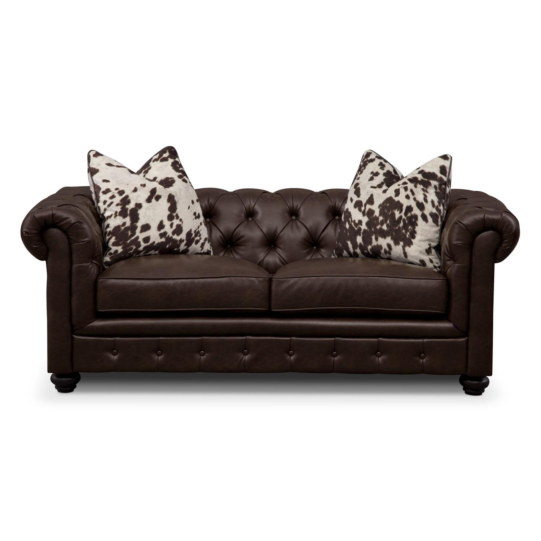 Madeline Chocolate Apartment Sofa