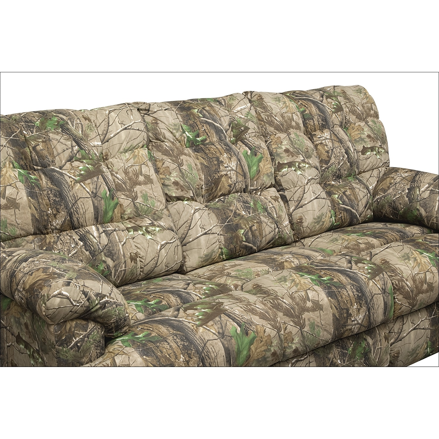 Camo Reclining Loveseat With Conso Batar