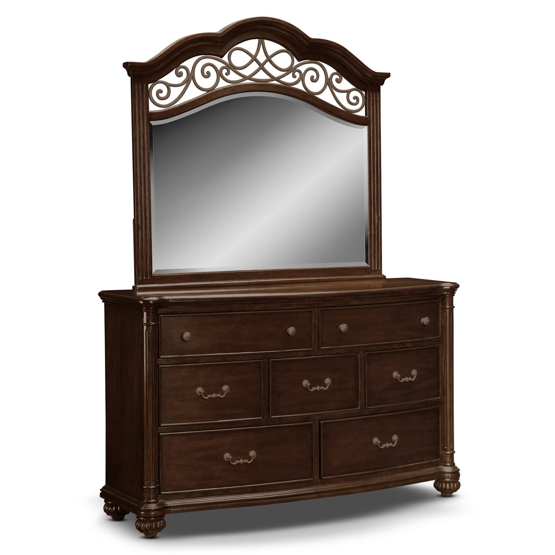 [Derbyshire Dresser & Mirror]