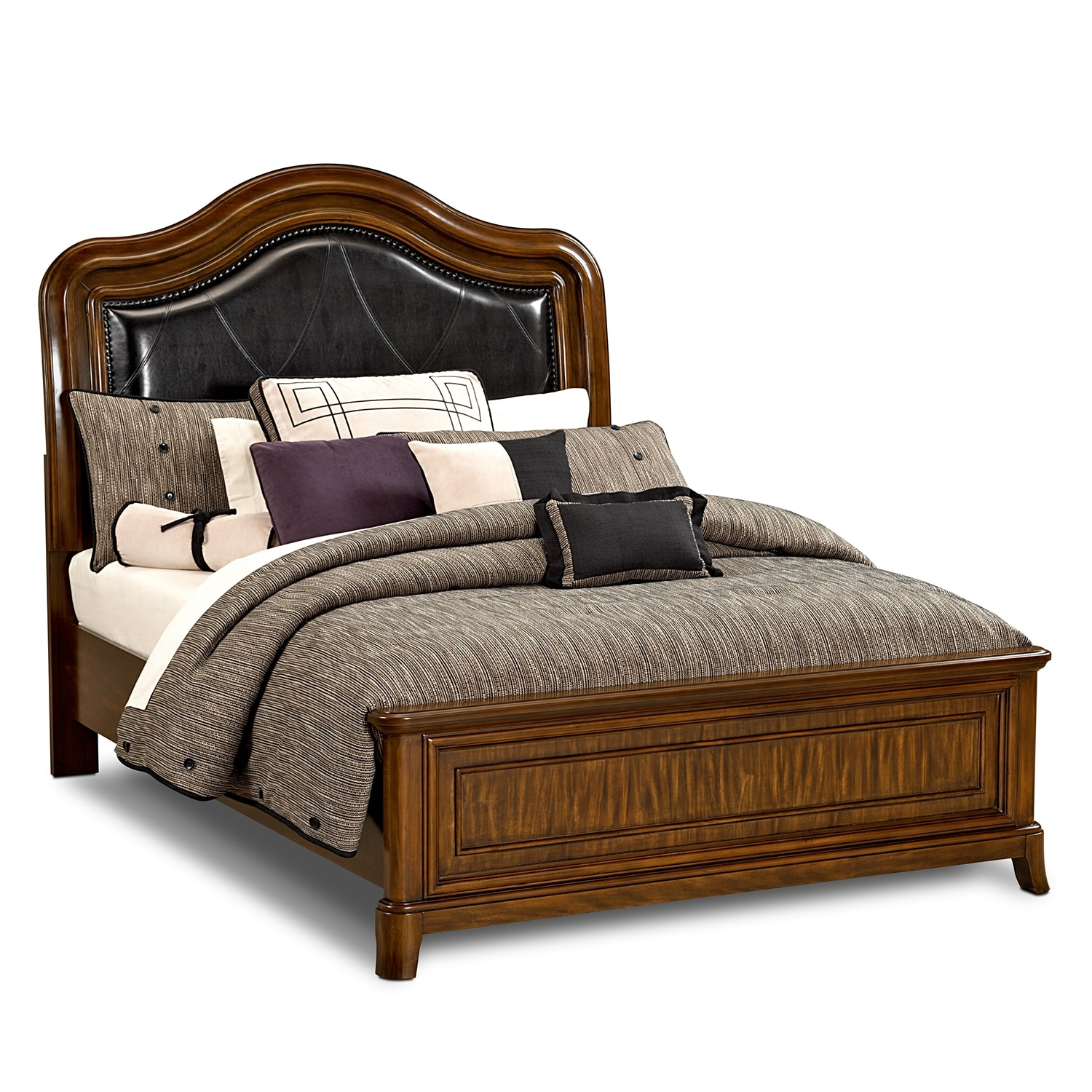 american signature furniture kingston bedroom 6 pc queen bedroom