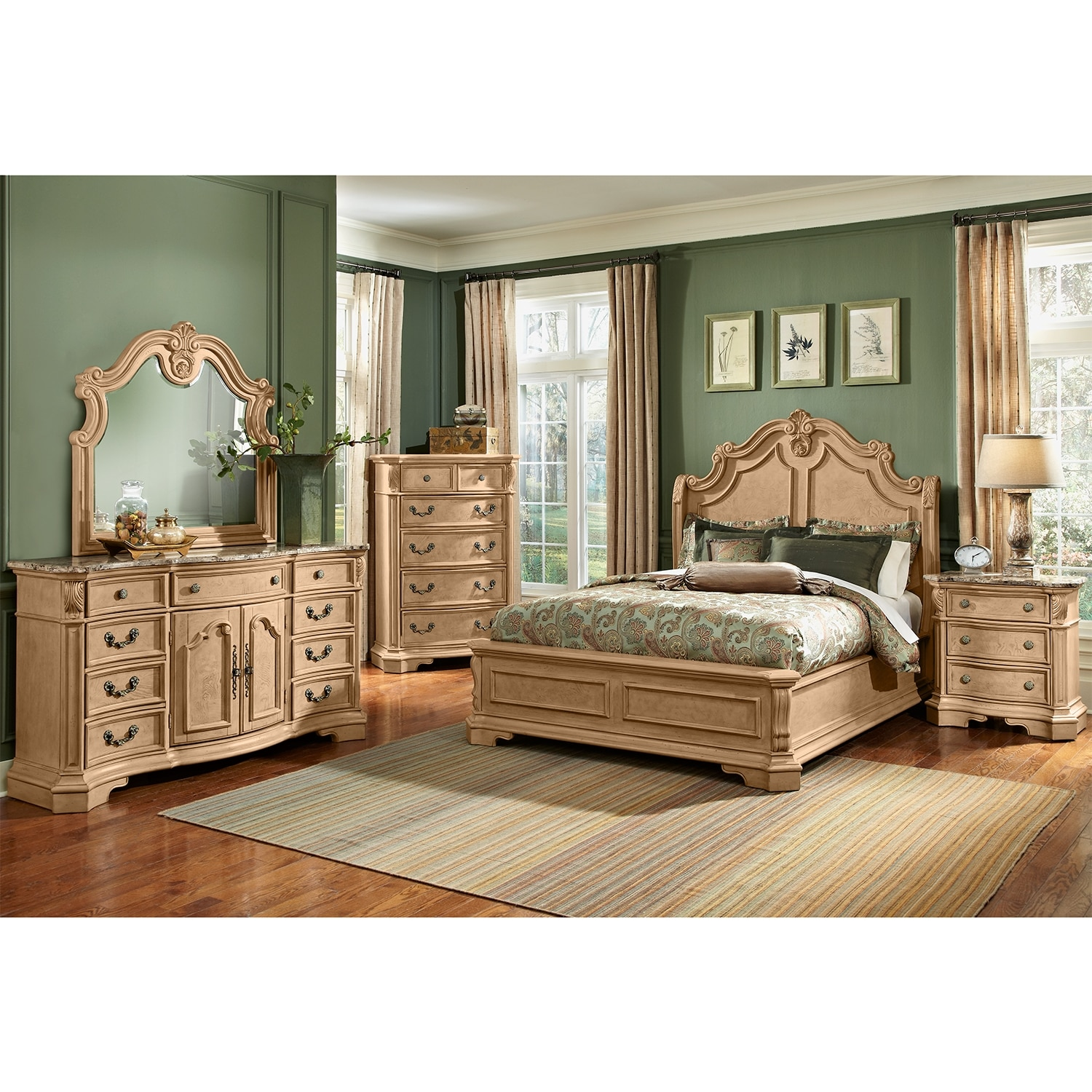 Monticello Almond Bedroom Chest