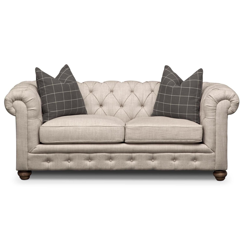 Marquette Beige Apartment Sofa