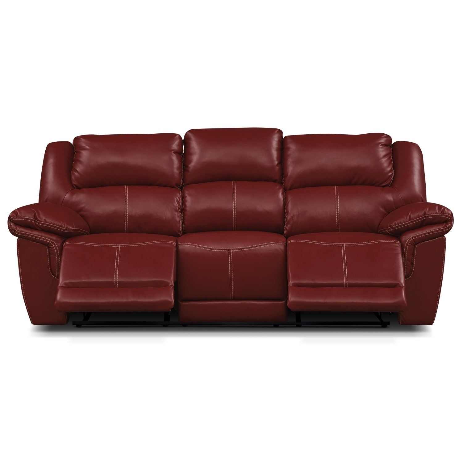 Jaguar II Leather Dual Reclining Sofa Value City Furniture : 293482 from valuecity.com size 1500 x 1500 jpeg 387kB