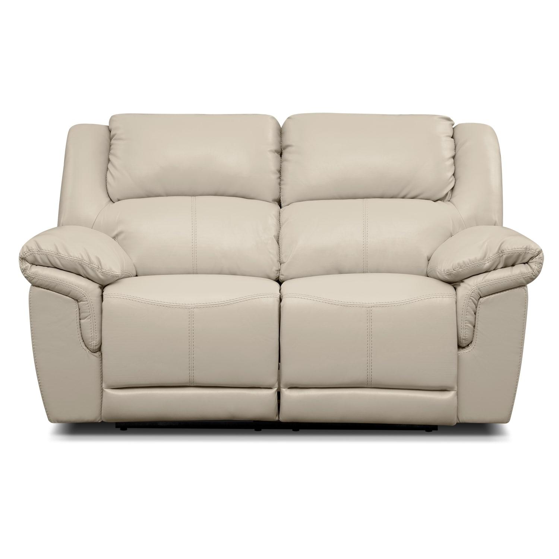 Jaguar Iii Leather Dual Reclining Loveseat Value City Furniture