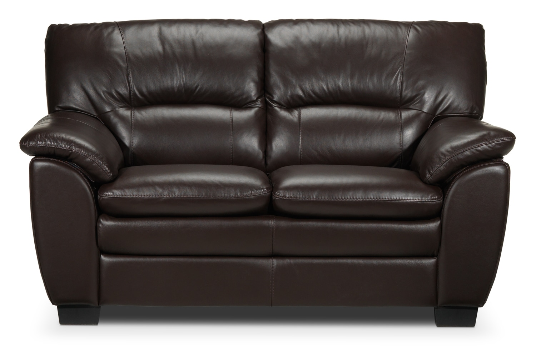 Living Room Furniture - Rodero Loveseat - Brown