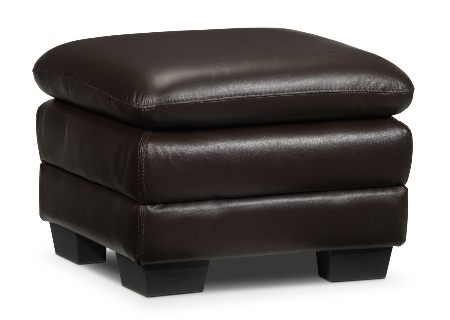 Living Room Furniture - Rodero Ottoman - Brown