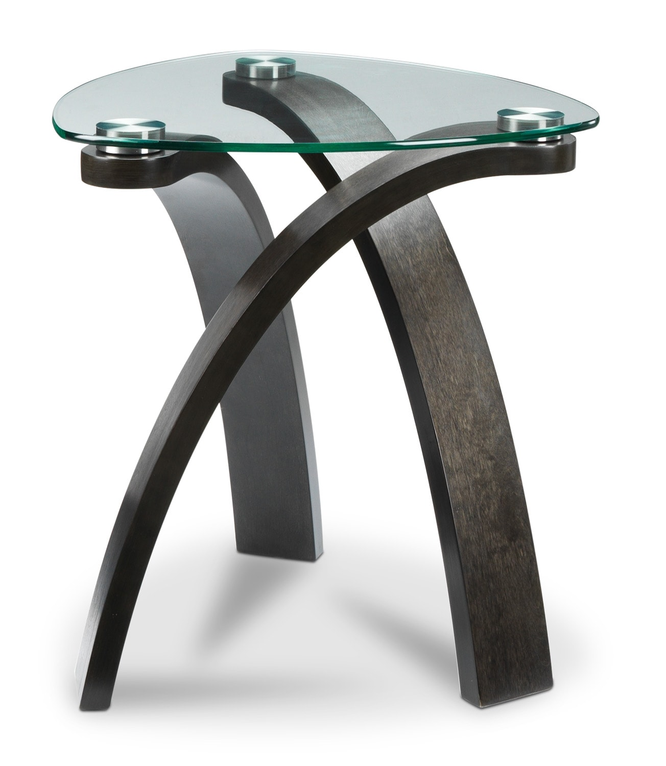 Azalea End Table - Charcoal