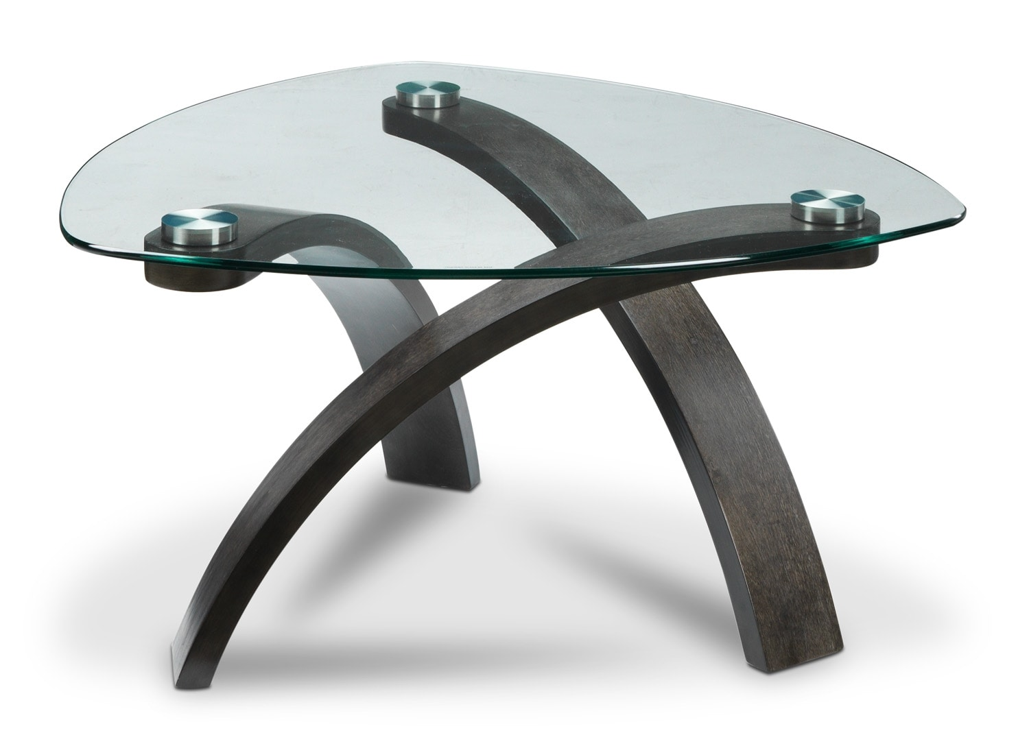 Accent and Occasional Furniture - Azalea Coffee Table - Charcoal