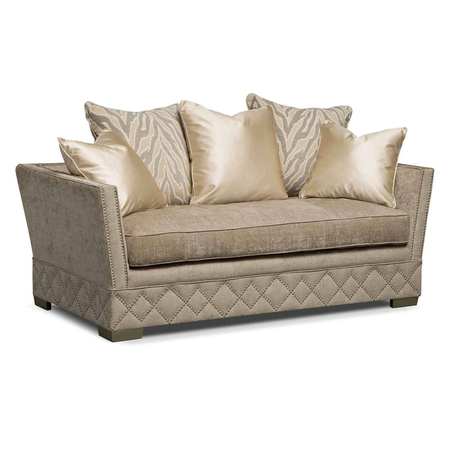 Vizcaya Upholstery 3 Pc Living Room Value City Furniture