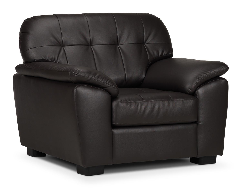 Living Room Furniture - Lisina Chair - Chocolate