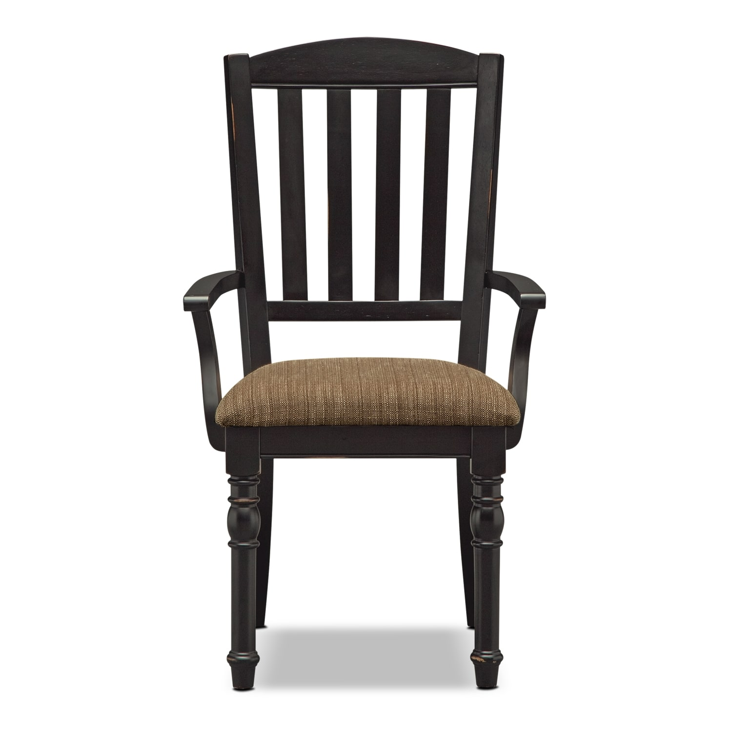 Castleton dining room arm chair value city furniture for Dining room arm chairs