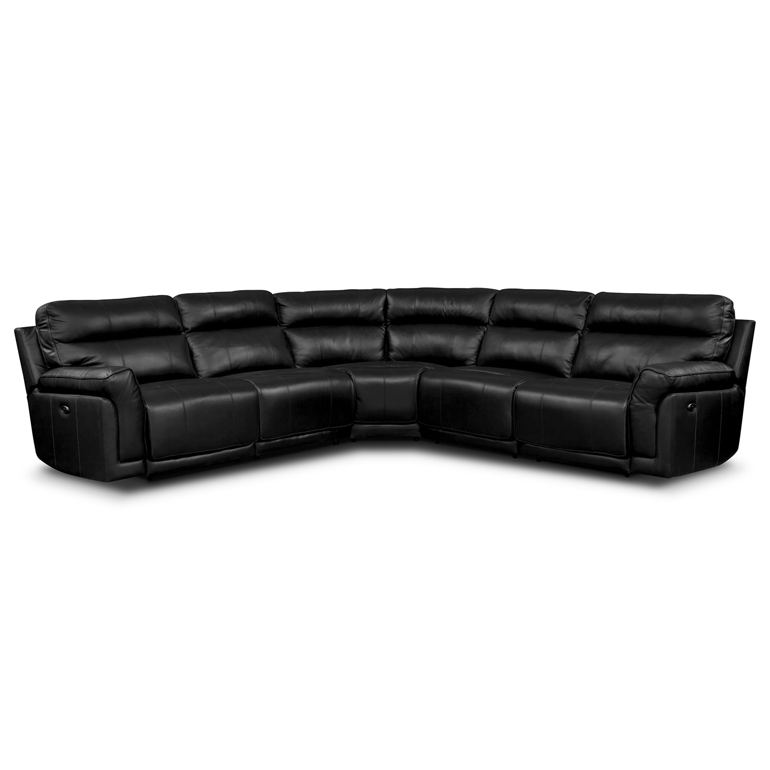 Living Room Furniture - Antonio 5 Pc. Power Reclining Sectional