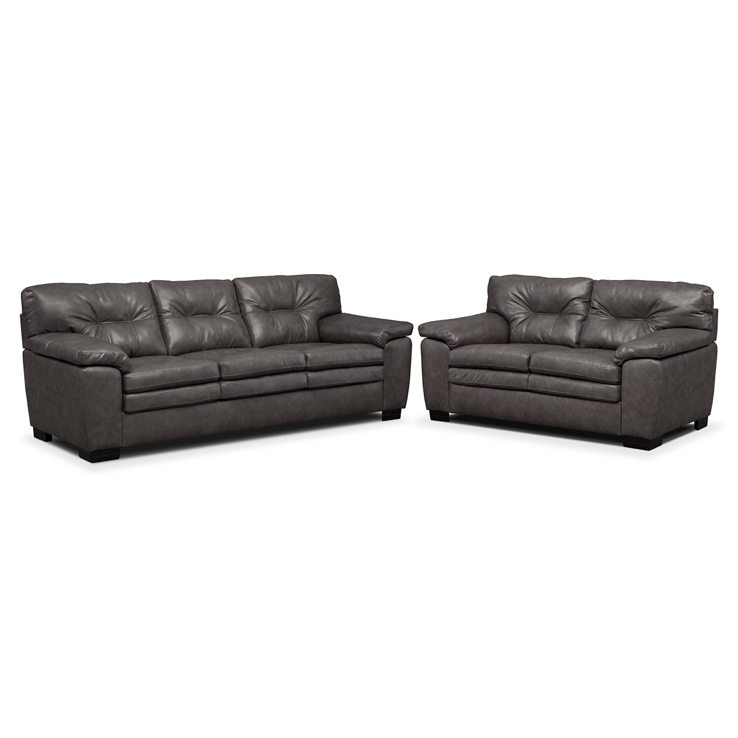 [Legend Gray 2 Pc. Living Room]
