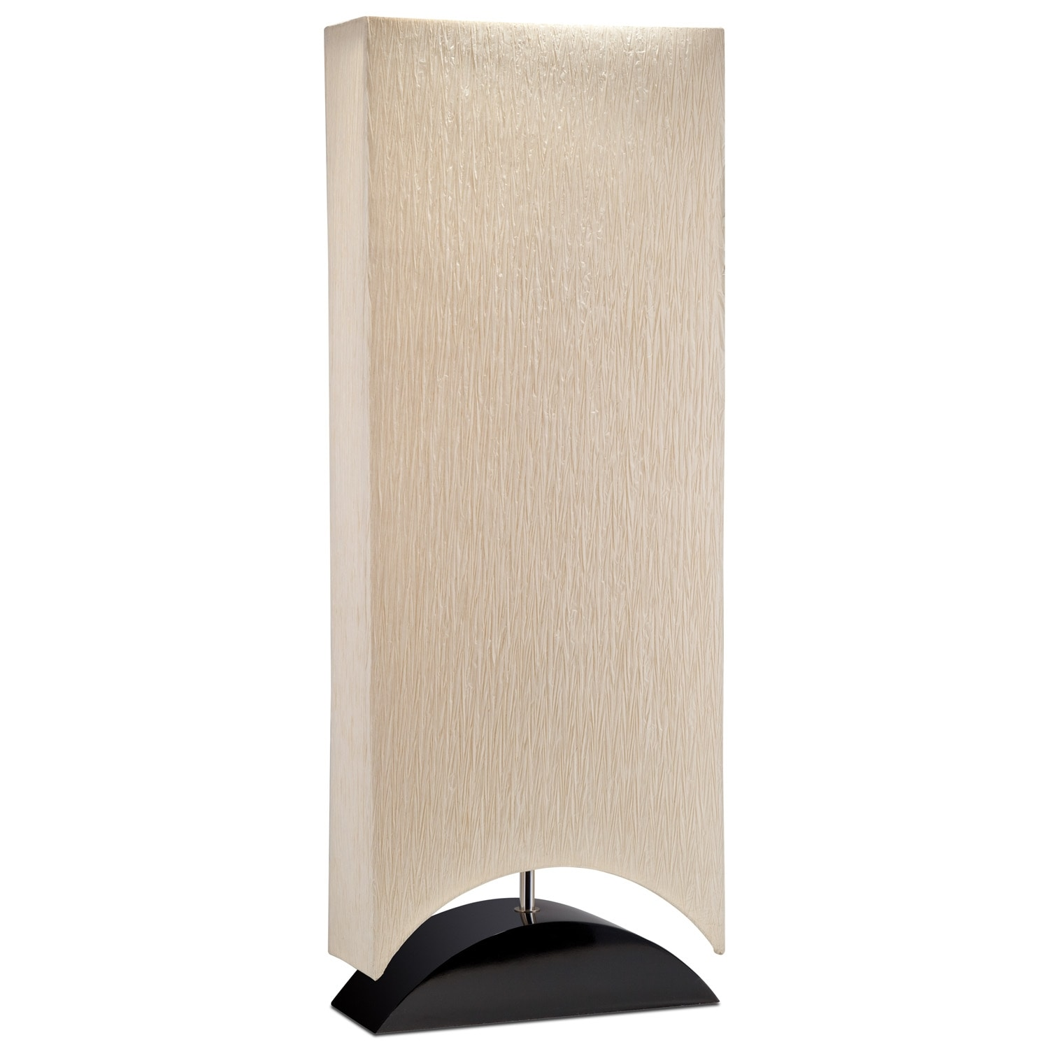 Paper Shade Lighting Floor Lamp - Value City Furniture