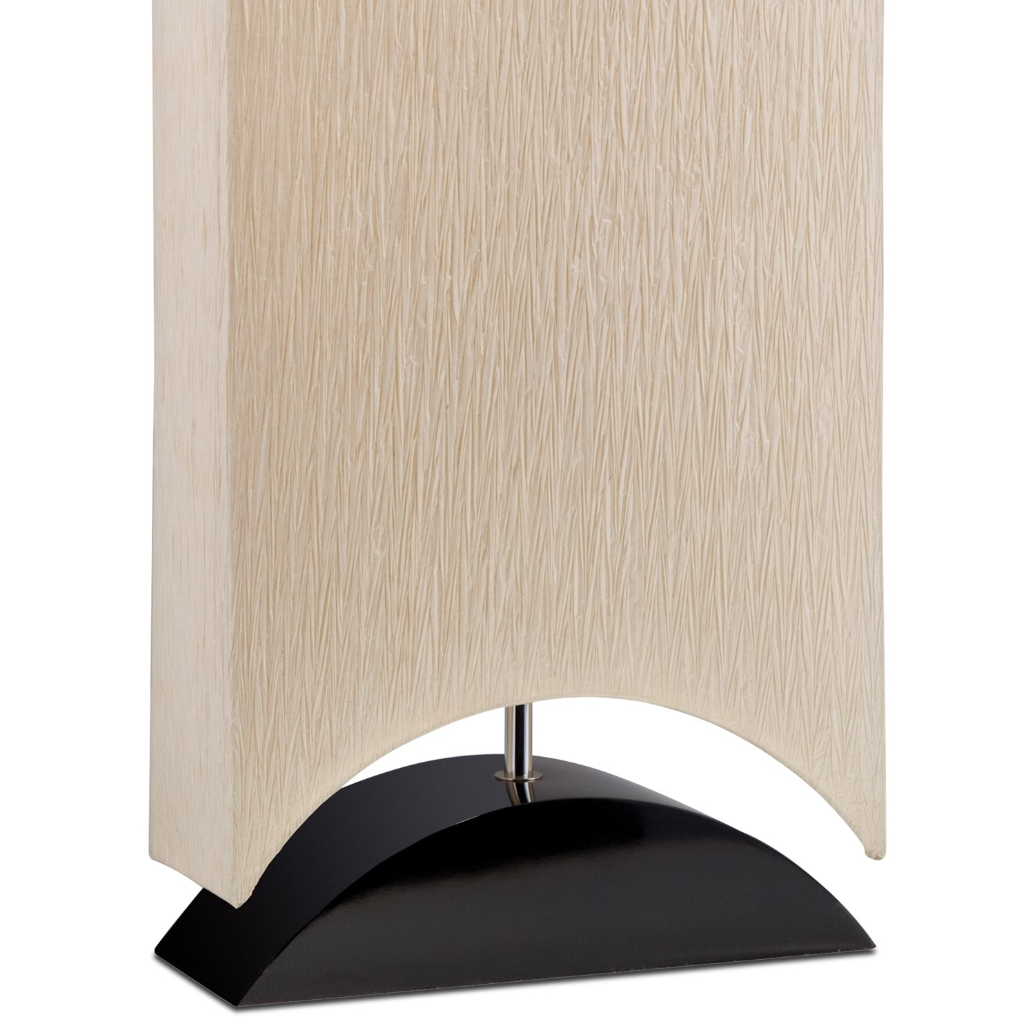 home accessories paper shade floor lamp. Black Bedroom Furniture Sets. Home Design Ideas