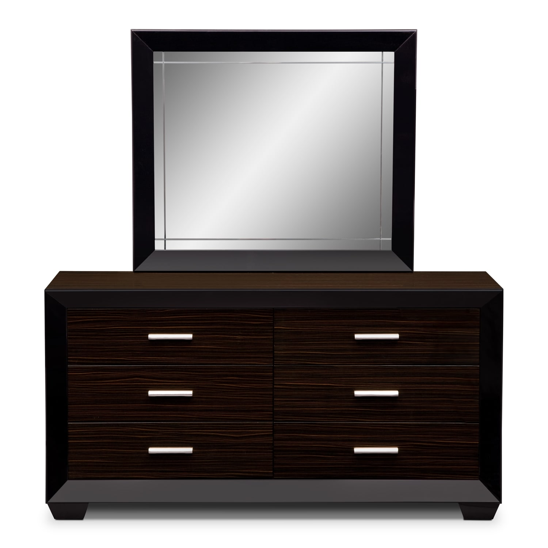 bedroom furniture serenity dresser mirror
