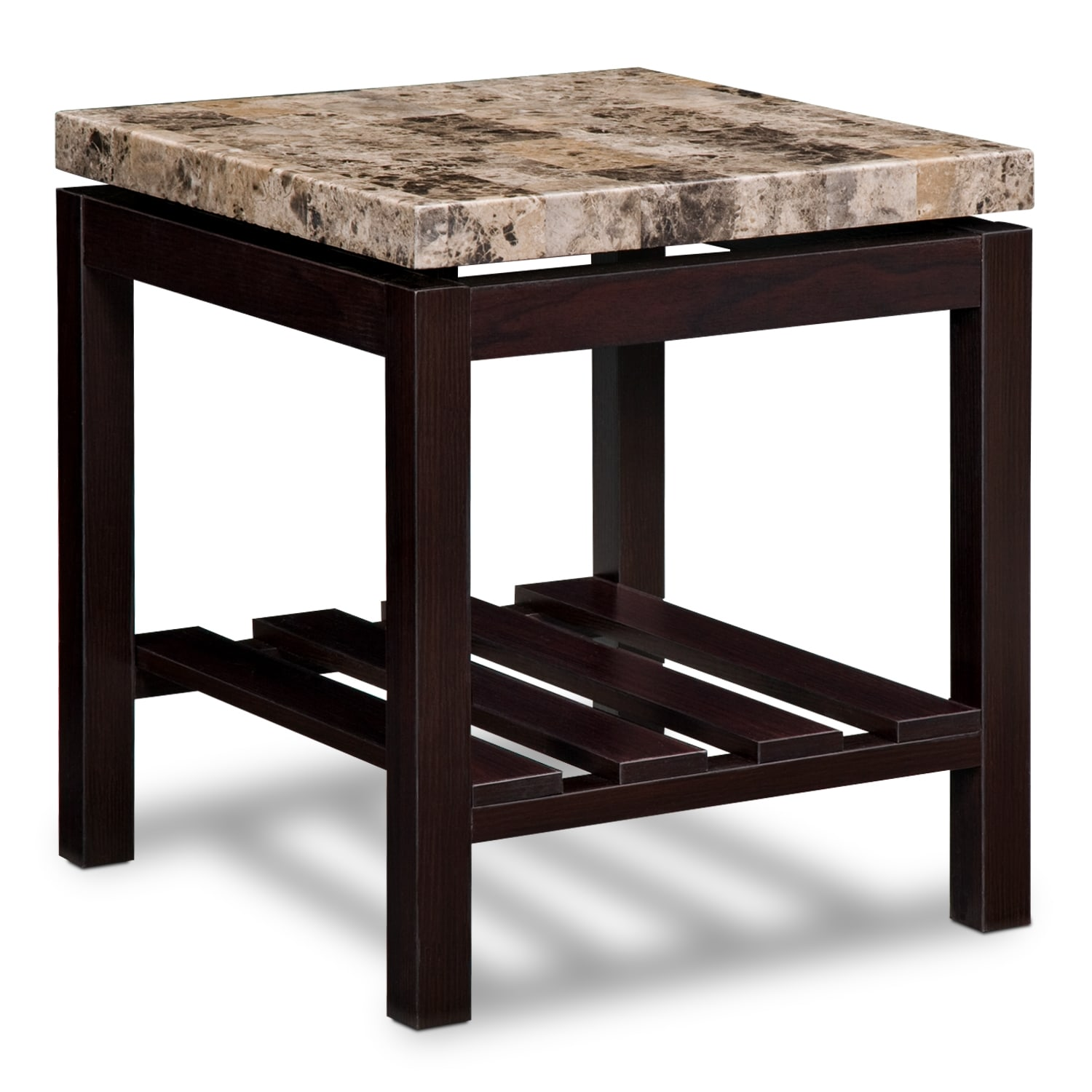 Audra occasional tables end table value city furniture for Occasional furniture