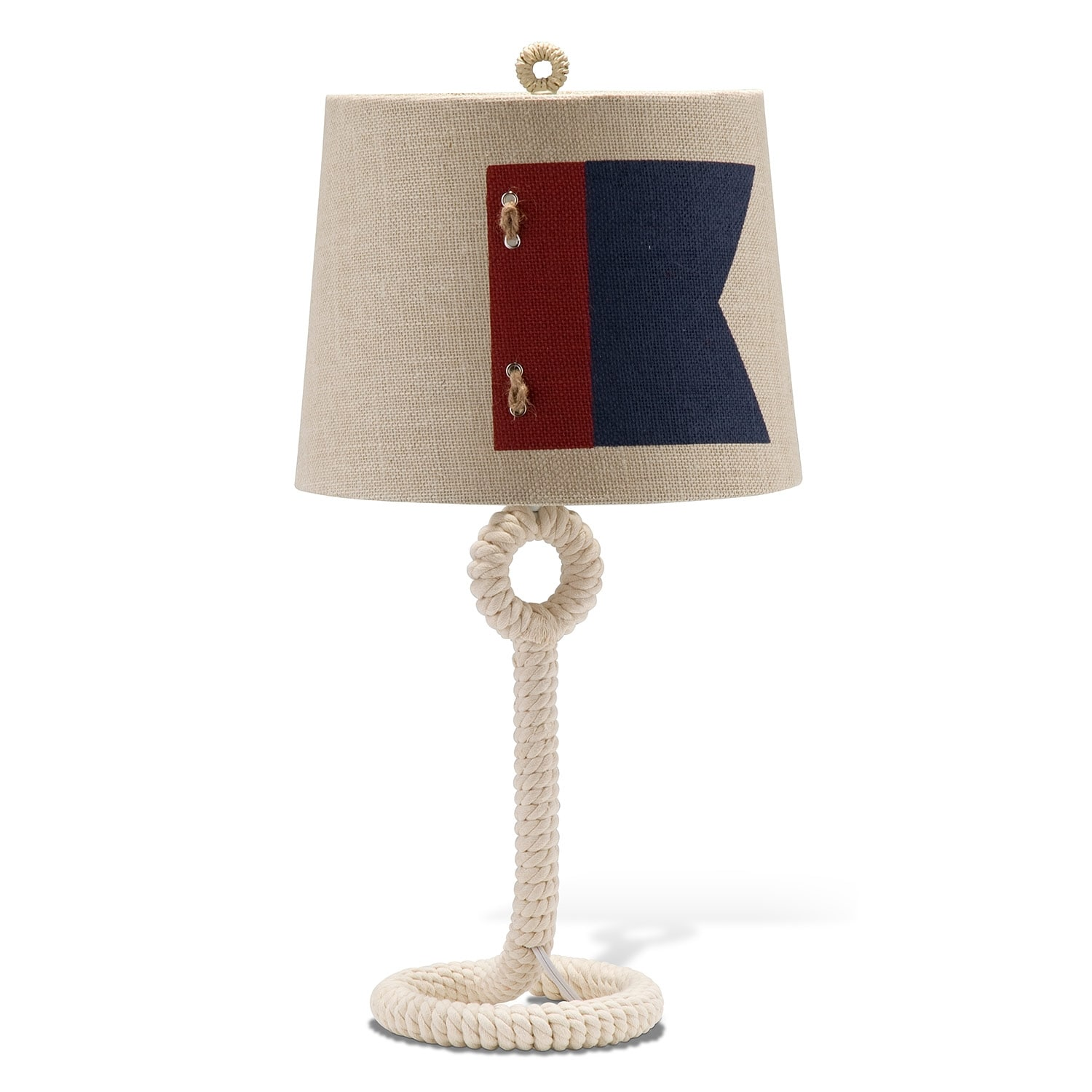 nautical lighting table lamp value city furniture. Black Bedroom Furniture Sets. Home Design Ideas