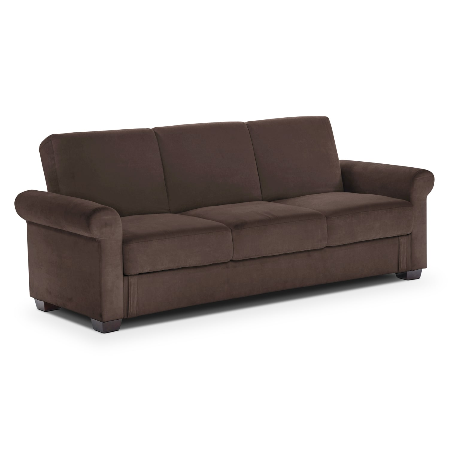Thomas Upholstery Futon Sofa Bed With Storage Value City Furniture