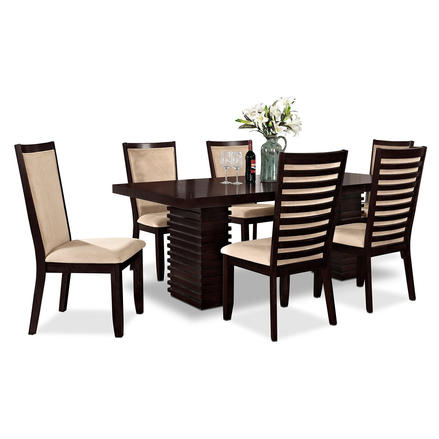 Paragon 7 Pc Dinette American Signature Furniture