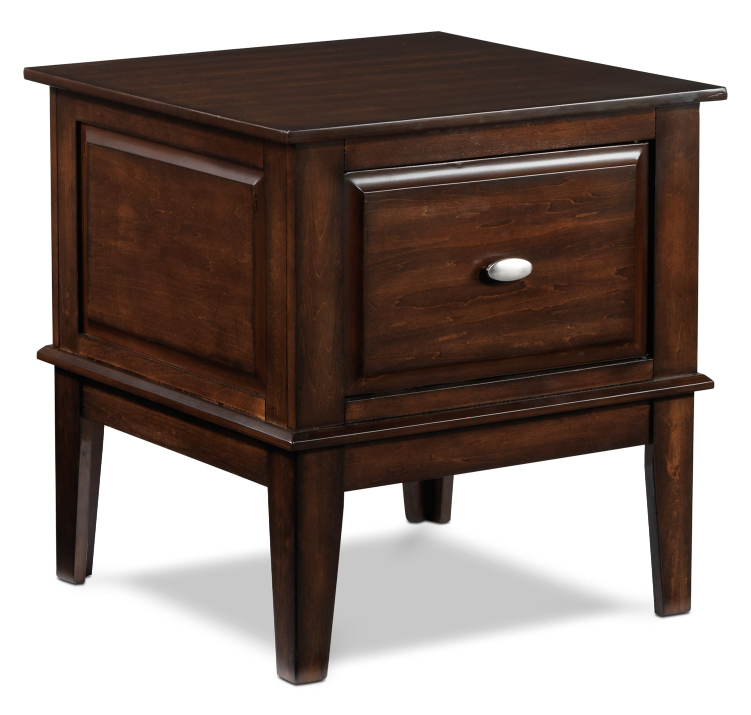 Accent and Occasional Furniture - Davidoff End Table - Walnut