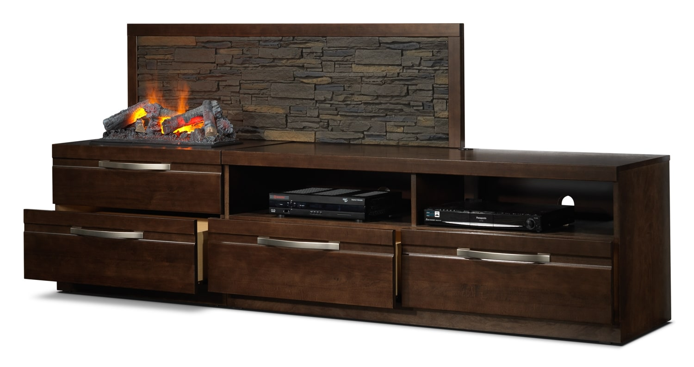 Cordelia 4 Pc. Fireplace Wall Unit | www.Leons.ca