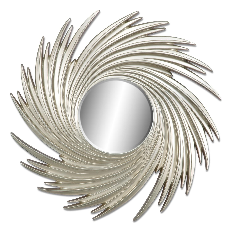 [Gold Swirl Mirror]