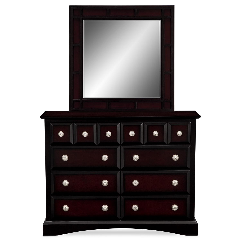 Winchester Ii Kids Furniture Media Dresser Mirror Value City Furniture
