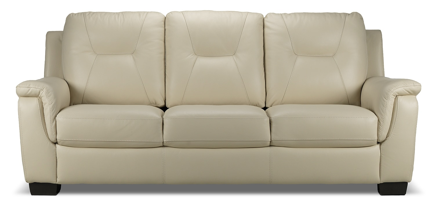 Living Room Furniture - Dalia Sofa - Bisque