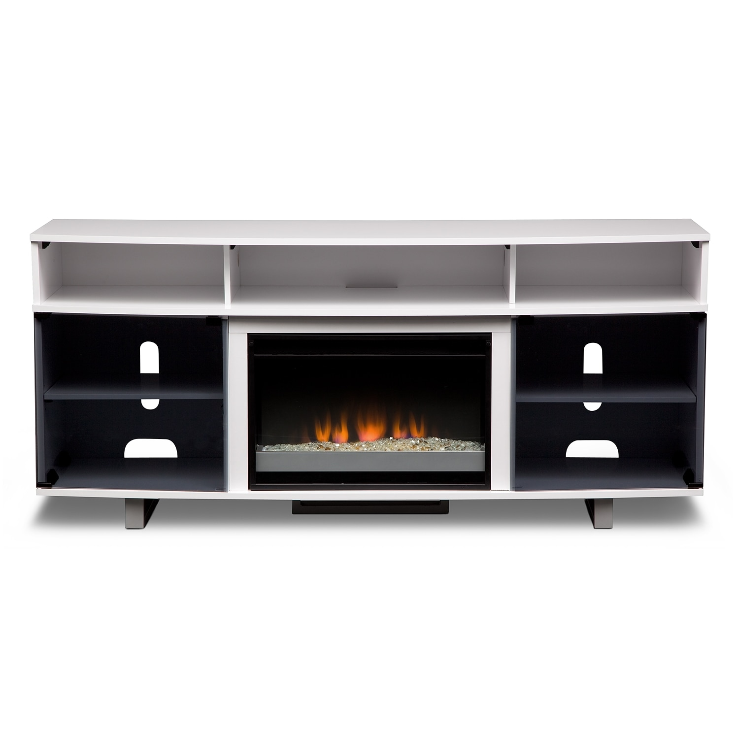 Pacer Entertainment Wall Units Fireplace Tv Stand American Signature Furniture