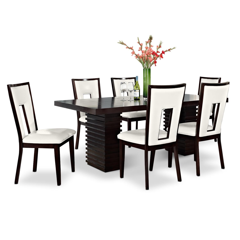 [Paragon Madera II 7 Pc. Dining Room]