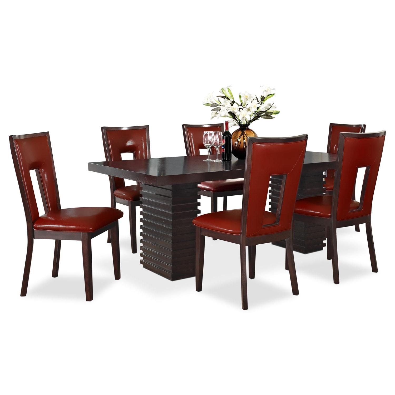 [Paragon Madera 7 Pc. Dining Room]