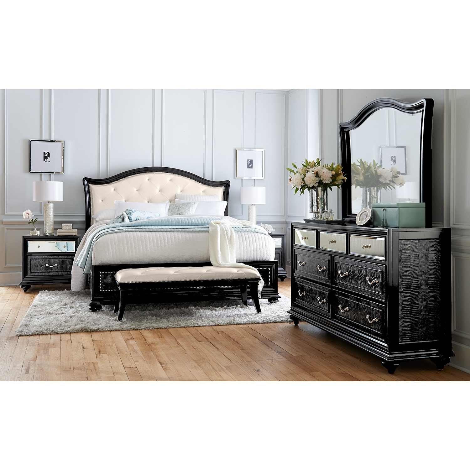 marilyn nightstand value city furniture