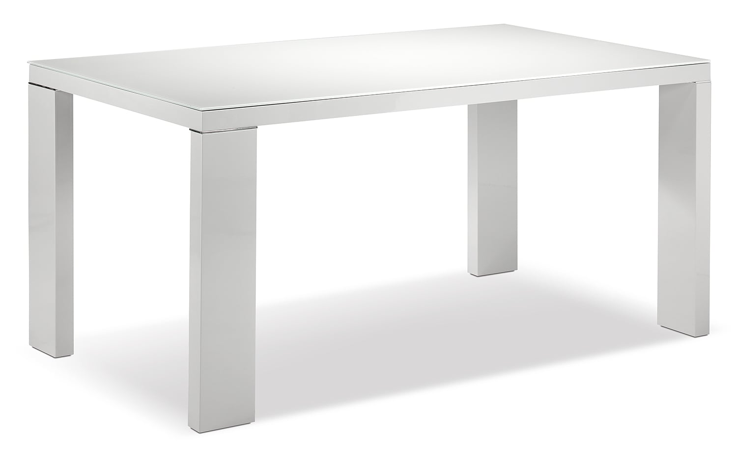 Dining Room Furniture - Bleecker Table - Light Grey