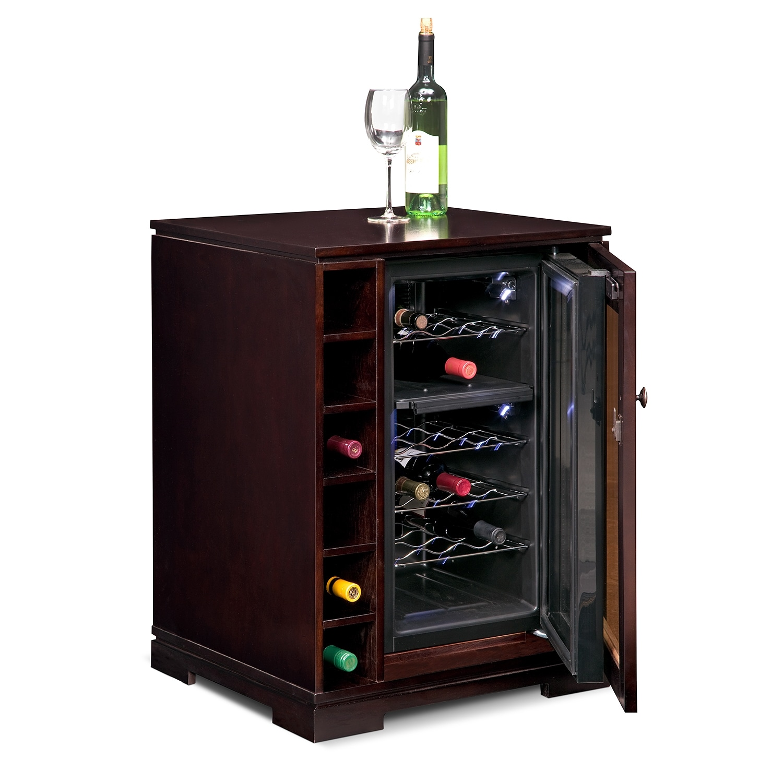 Bar Cabinet With Wine Fridge Firenze Wine And Spirits