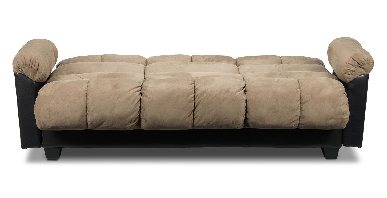 klik klak sofas microfiber klik klak sofa with storage ara mo thesofa. Black Bedroom Furniture Sets. Home Design Ideas