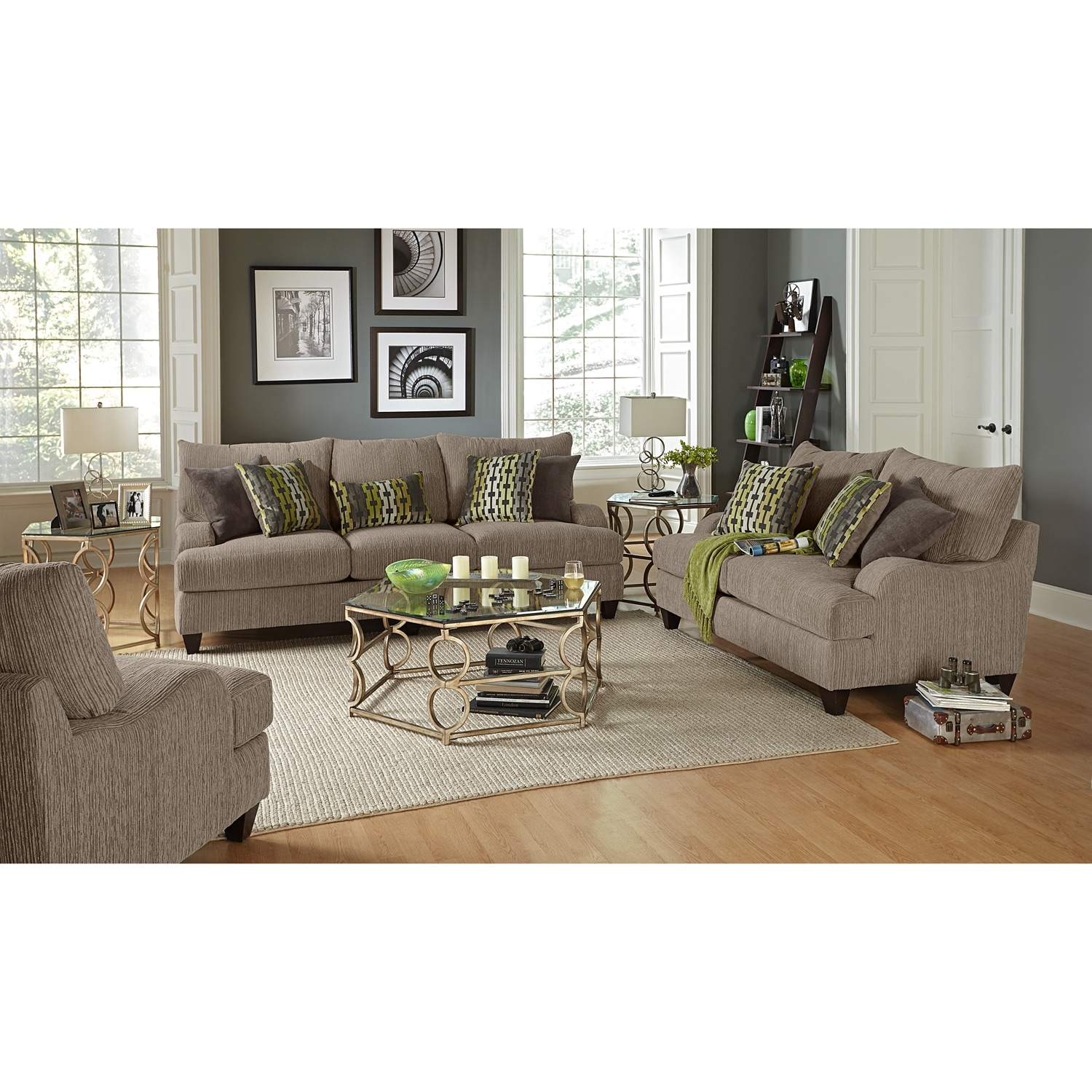 Santa Monica Upholstery 2 Pc Living Room Value City Furniture
