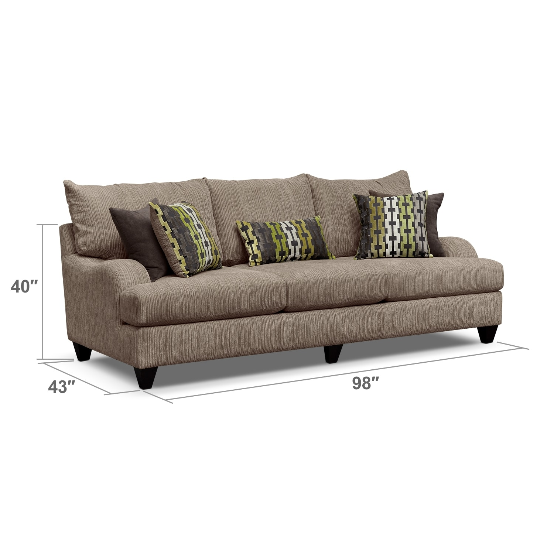 Living Room Furniture - Hollister Sofa