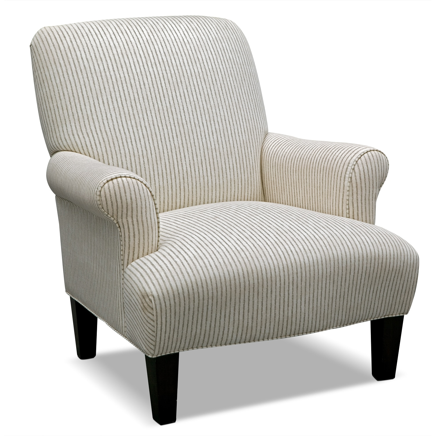 Hadley upholstery 3 pc living room w accent chair for Living room chairs