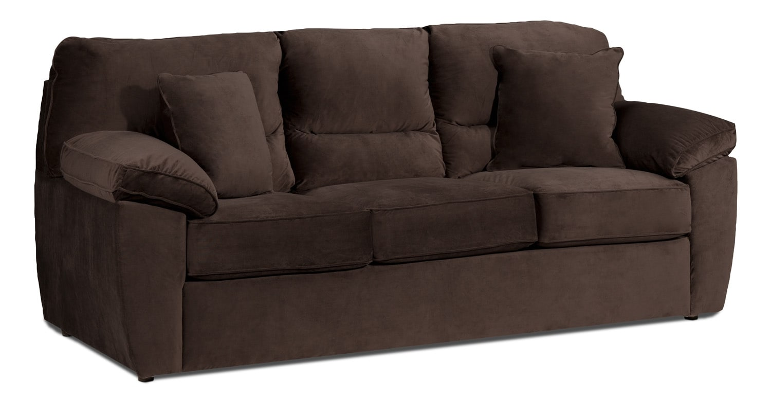 Accent and Occasional Furniture - Melody Queen Sofabed - Chocolate