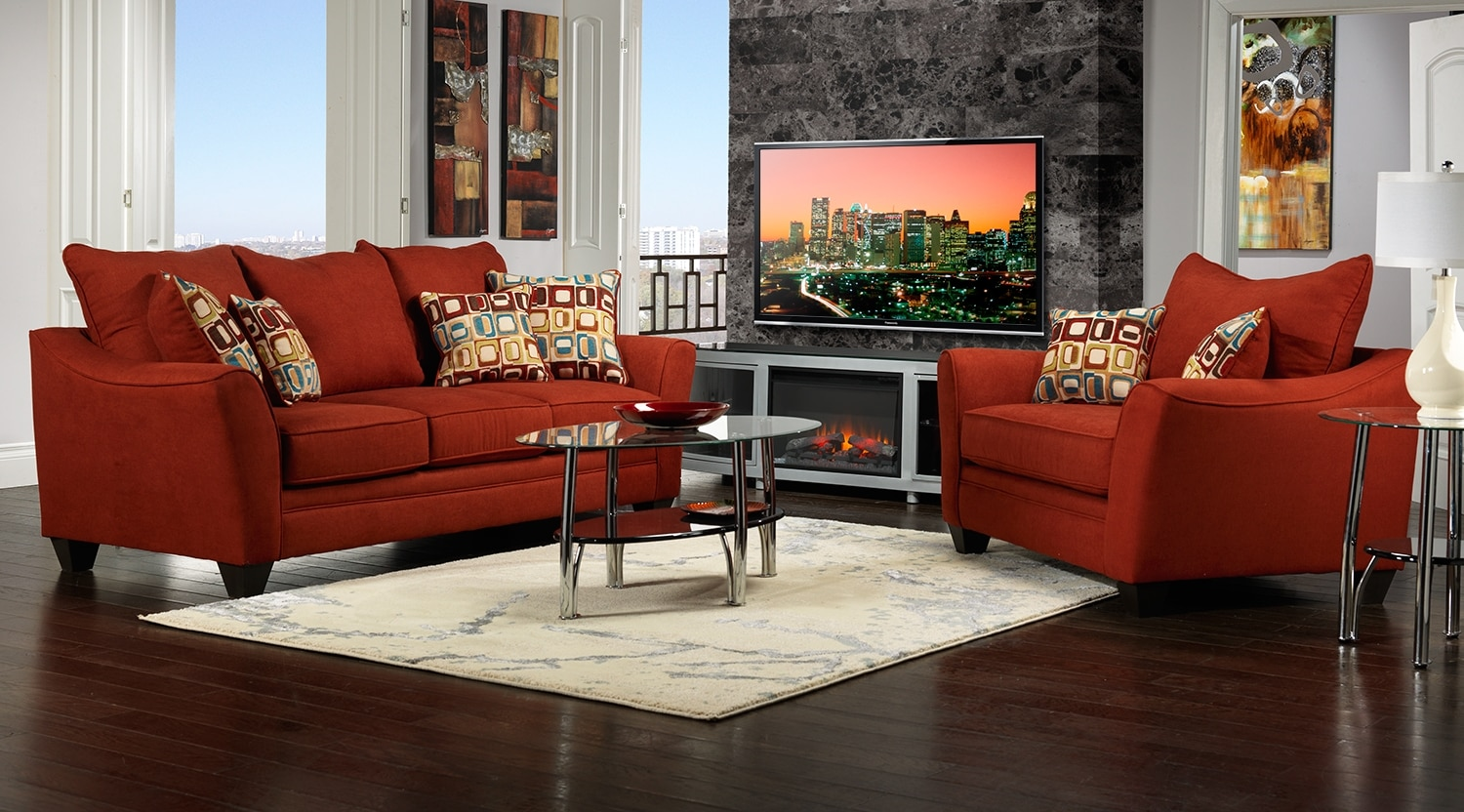 Leons Living Room Sets Zion Star