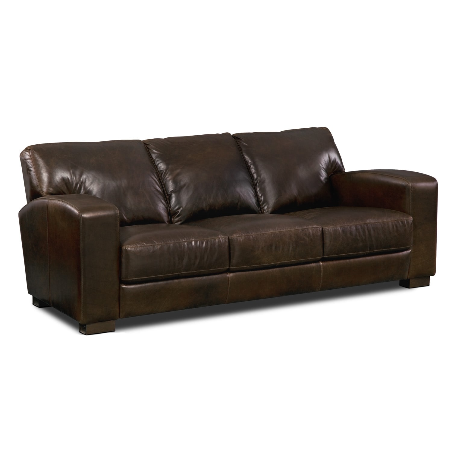 Grayson Leather Sofa Value City Furniture